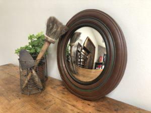 miroir œil de sorcière vintage antiquité