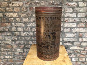 boite en métal vintage