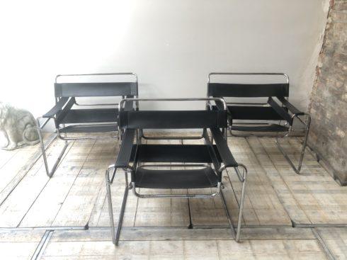 fauteuil wassily, modèle B3, Breuer