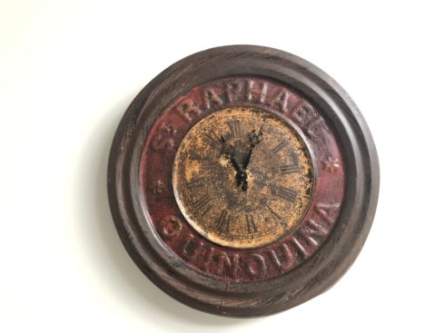 ancienne horloge St Raphael