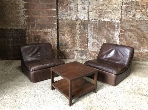 fauteuils en cuir