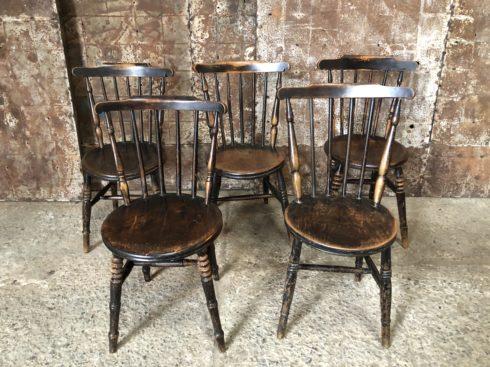 chaises de bistrot anglaises - anciennes chaises de pub