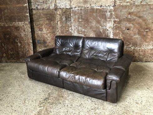 Canapé en cuir Airborne - canapé vintage