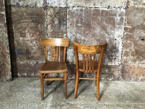 canciennes chaises bistrot en bois