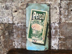 plaque émaillée -publicité Persil