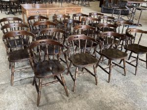 lot de chaises bistrot