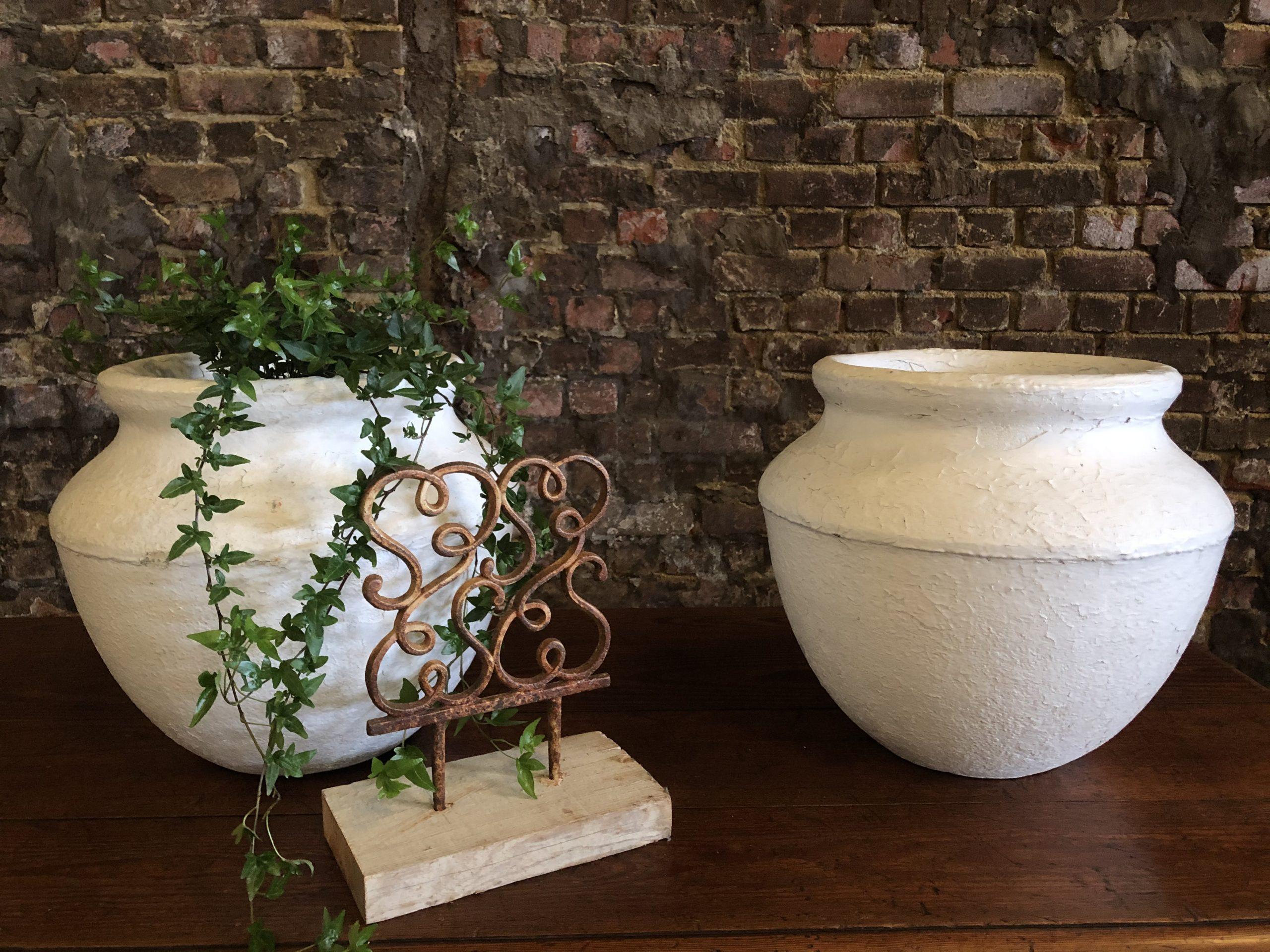 paire de vasques de jardin