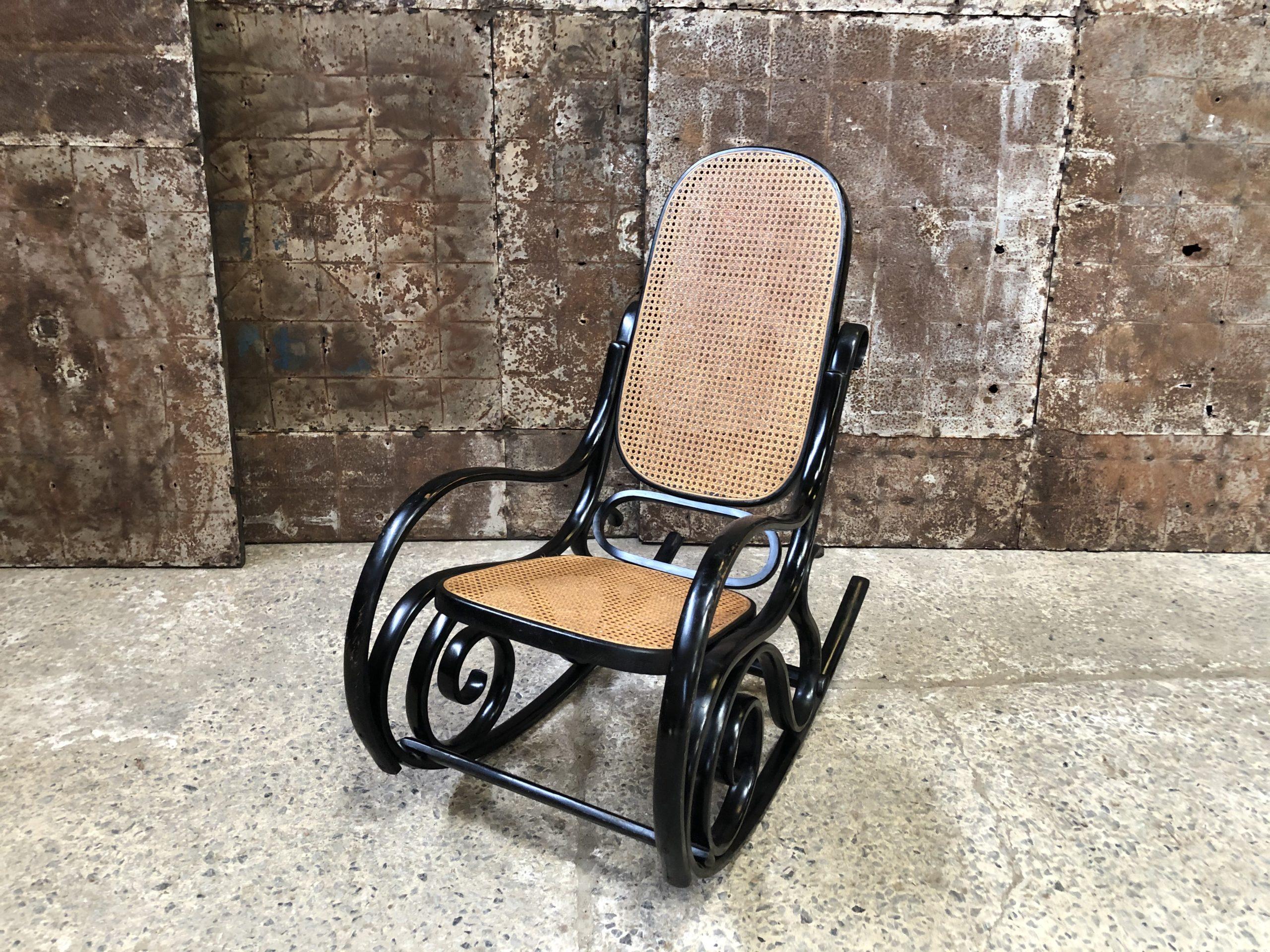 chaise à bascule Salvatore Leone