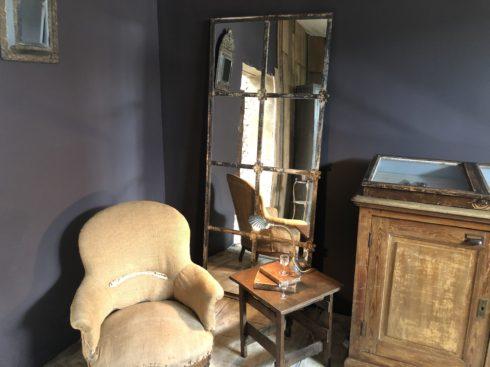 miroir fenêtre style romantique