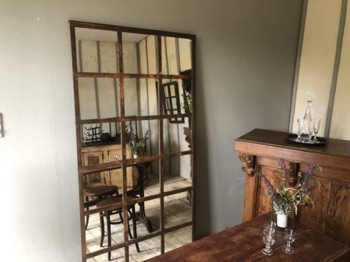 miroir fenêtre industriel