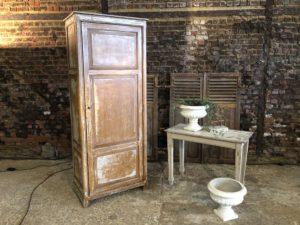 armoire en bois patinée 1 porte