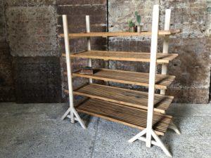 Panetière - étagère en bois