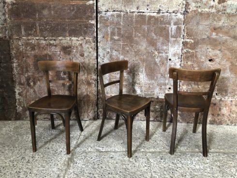 Chaises bistrot style Baumann