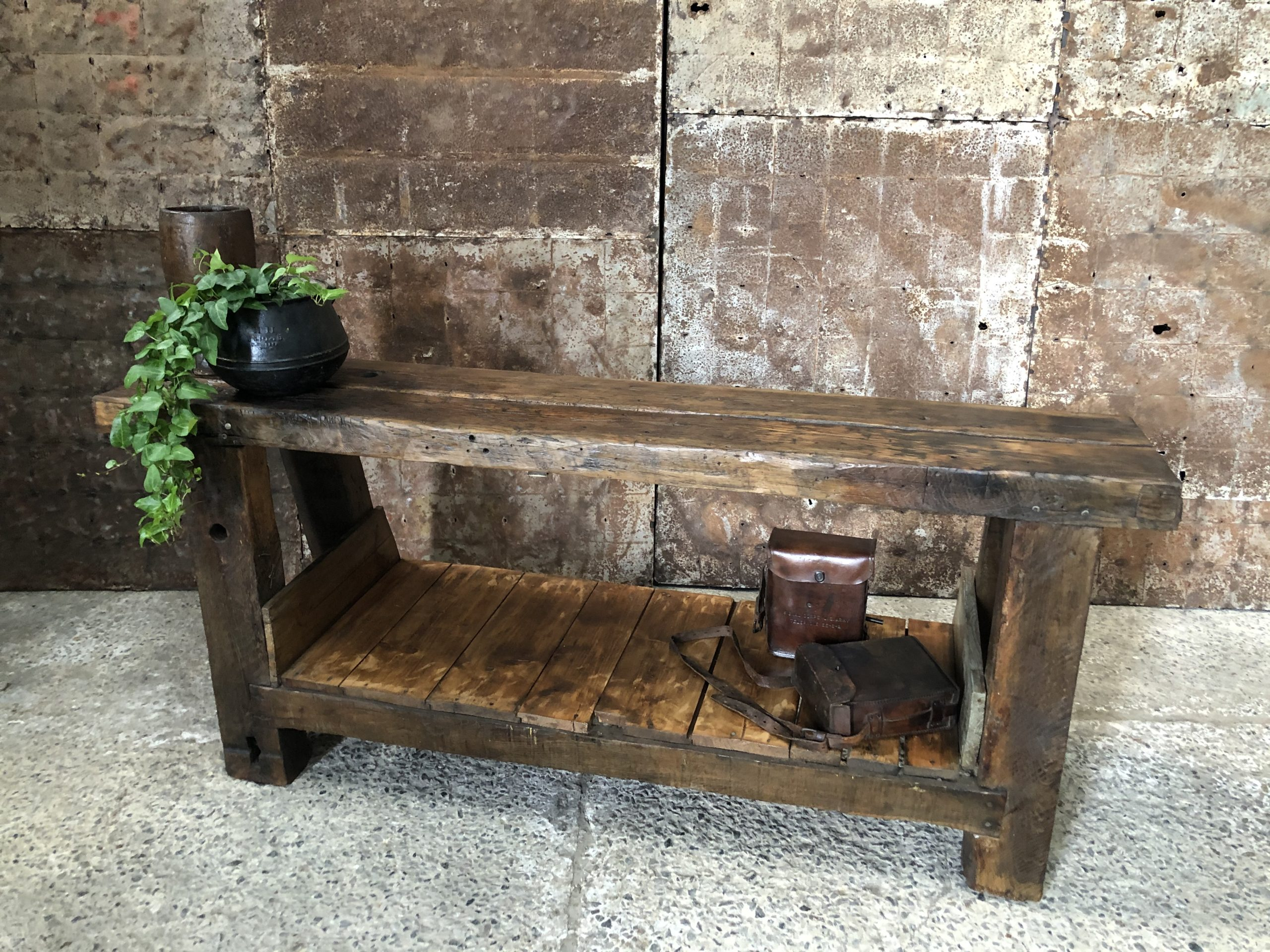 Old working bench