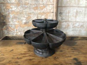 Sébile ou marguerite de cordonnier 2 niveaux et rotatif