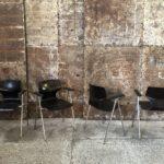 Chaises vintage avec accoudoirs Flöttoto