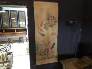 Kakemono estampe chinoise