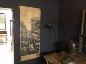 Kakemono peinture Chinoise