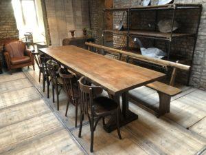 Table à manger 10 personnes en bois