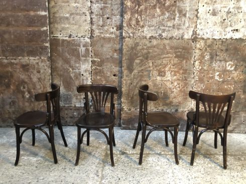 Lot of bistro chairs