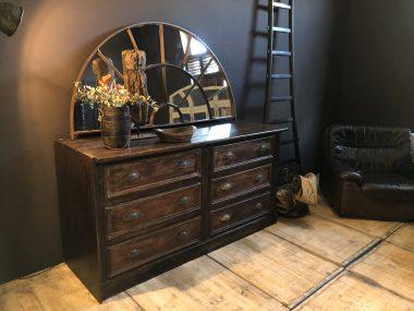 COMMODE - ancien meuble de métier à tiroir