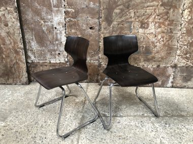 Chaises Vintage Flötotto
